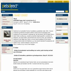 Hundefoder   kattefoder og hundemad