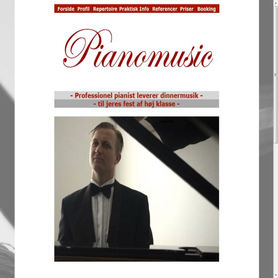 Pianist Andreas Møller