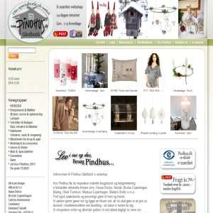 Pindhus.dk - Brugskunst, gaver & specialiteter