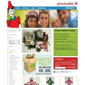 Pinocchioshop.dk