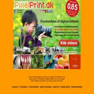 PixelPrint.dk - fremkaldelse af digitale billeder