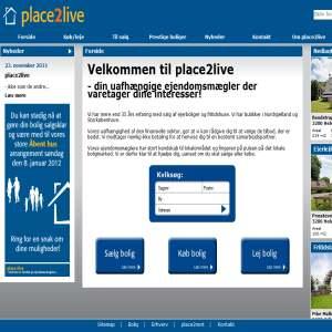Place2live - Nordsjællands uafhængige ejendomsmæglere