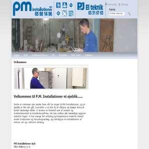 PM Installationer og P & J Elteknik