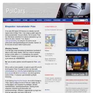 Bilreparation i Polen