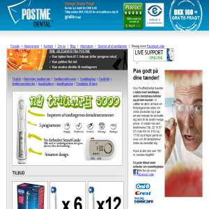 PostMeDental - DKs billigste dantalvarebutik