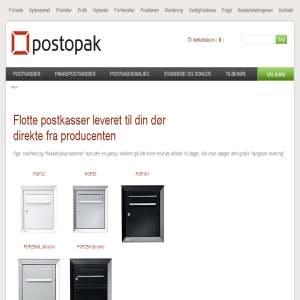Postopak.dk - Salg af postkasser