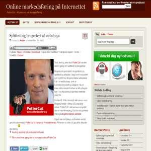 PotterCut - Online markedsføring på internettet