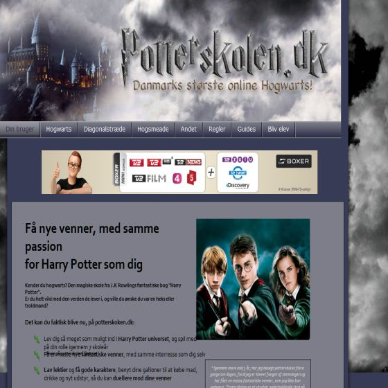 Potterskolen.dk