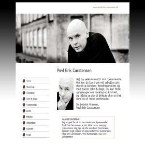 Povl Erik Carstensen - stand-up komiker, foredragsholder