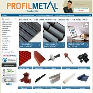 Profilmetal-Shop.dk - Nyt tag direkte fra fabrik