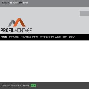 Profilmontage.dk - Montering af nyt tag