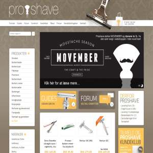 Proshave - Den ultimative barbering