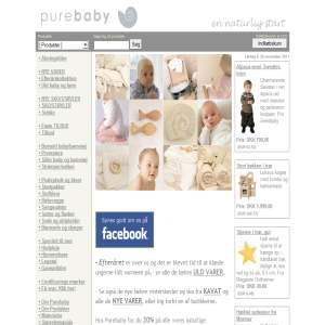 Babyudstyr - Purebaby.dk