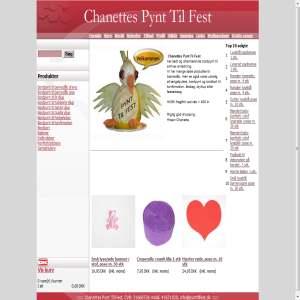 Chanettes Pynt Til Fest