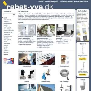 VVS til bad og toilet- online salg