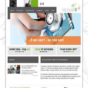 Data gendannelse - RecoverIT