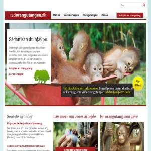 Red en orangutang - Hjælp dyr i nød