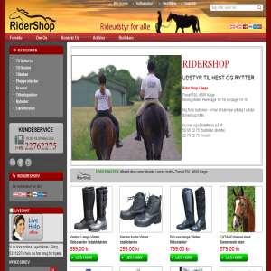 RiderShop - Rideudstyr for alle
