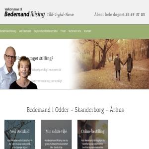 Bedemand Riising i Højbjerg og Viby