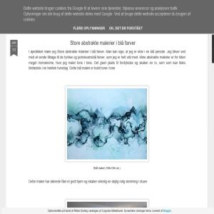 Blog om kunst af billedkunstner Rikke Darling