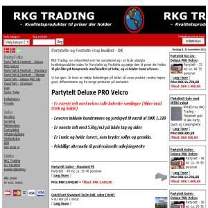 Partytelt og Festtelt - RKG Trading