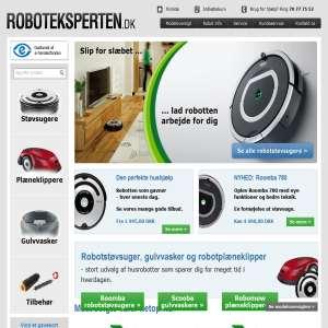 Robotstøvsugere og Robotplæneklippere