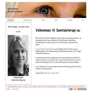 Samtaleterapi hos Psykoterapeut Mette Girsel Gjerløv