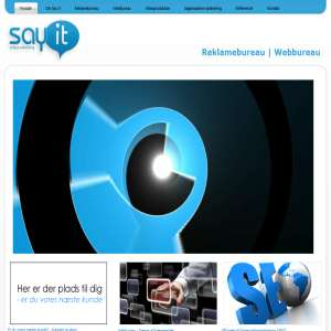 Say it Reklame og webbureau i Kolding