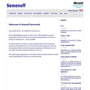Semenoff - Advanced solution development