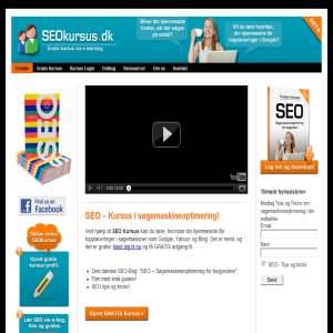 SEOkursus.dk - Gratis e-kursus i søgeoptimering