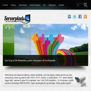 Serverplads.net - Gratis Dansk Webhosting