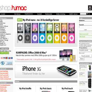 Humac online store