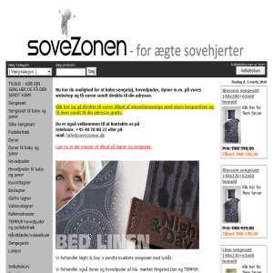 Sovezonens webshop