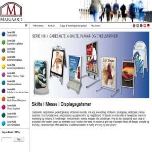 Maigaard Total Skilte & Inventar Systemer