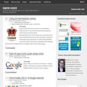 Simonsiger.dk - En blog om affiliate marketing og iværksætteri