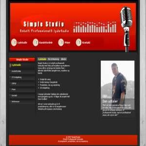 SimpleStudio - Professionelt lydstudie
