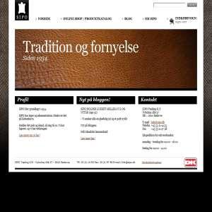 Sipo Trading - Alt i Læder, Skind og Pelse - Online Shop
