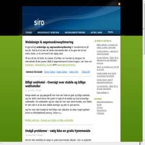 Siro - Webdesign & Søgemaskineoptimering