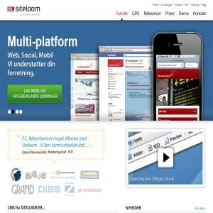 SiteLoom Web Content Management System (WCMS)