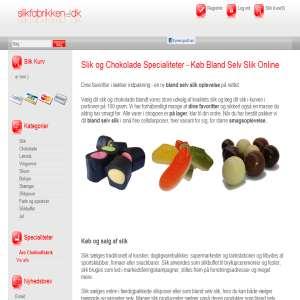 Slik Online - Bland Selv Slik og Chokolade
