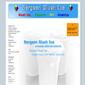 Bergsen Slush Ice Maskiner