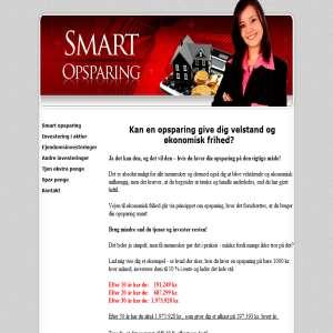Smart opsparing