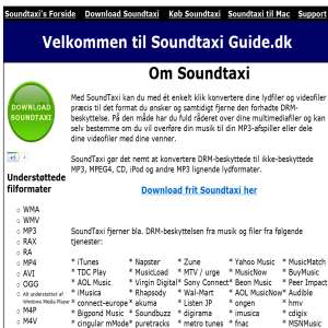 SoundtaxiGuide.dk