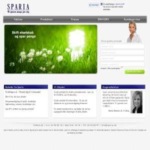 Sparia - Vi sparer penge for dig!