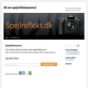 Spejlrefleks.dk - din guide til Spejlreflekskamera