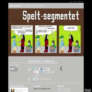 Tegneserien Spelt-segmentet