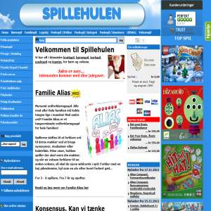 Spillehulen.dk