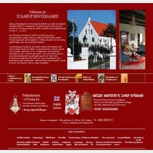 Staarup Hovedgaard - Salg af antikviteter