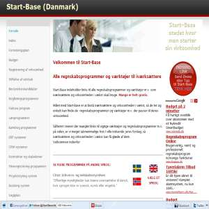 Start-Base - Regnskabsprogrammer