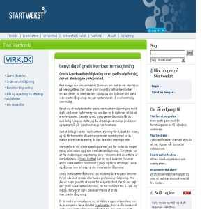 Startvækst | Gratis iværksætterrådgivning